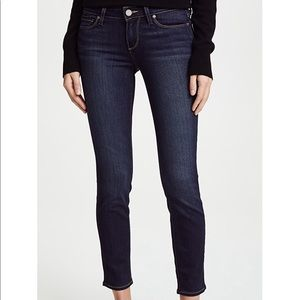 Paige transcend verdugo ankle skinny jeans